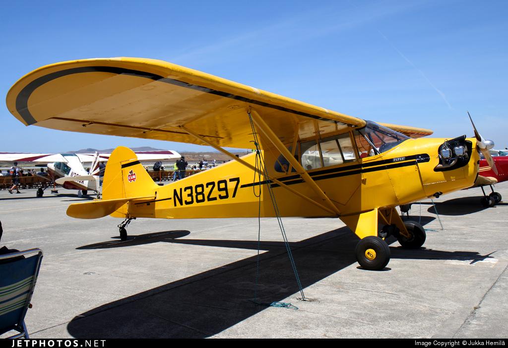 N38297 - Piper J-5A Cub Cruiser - Private