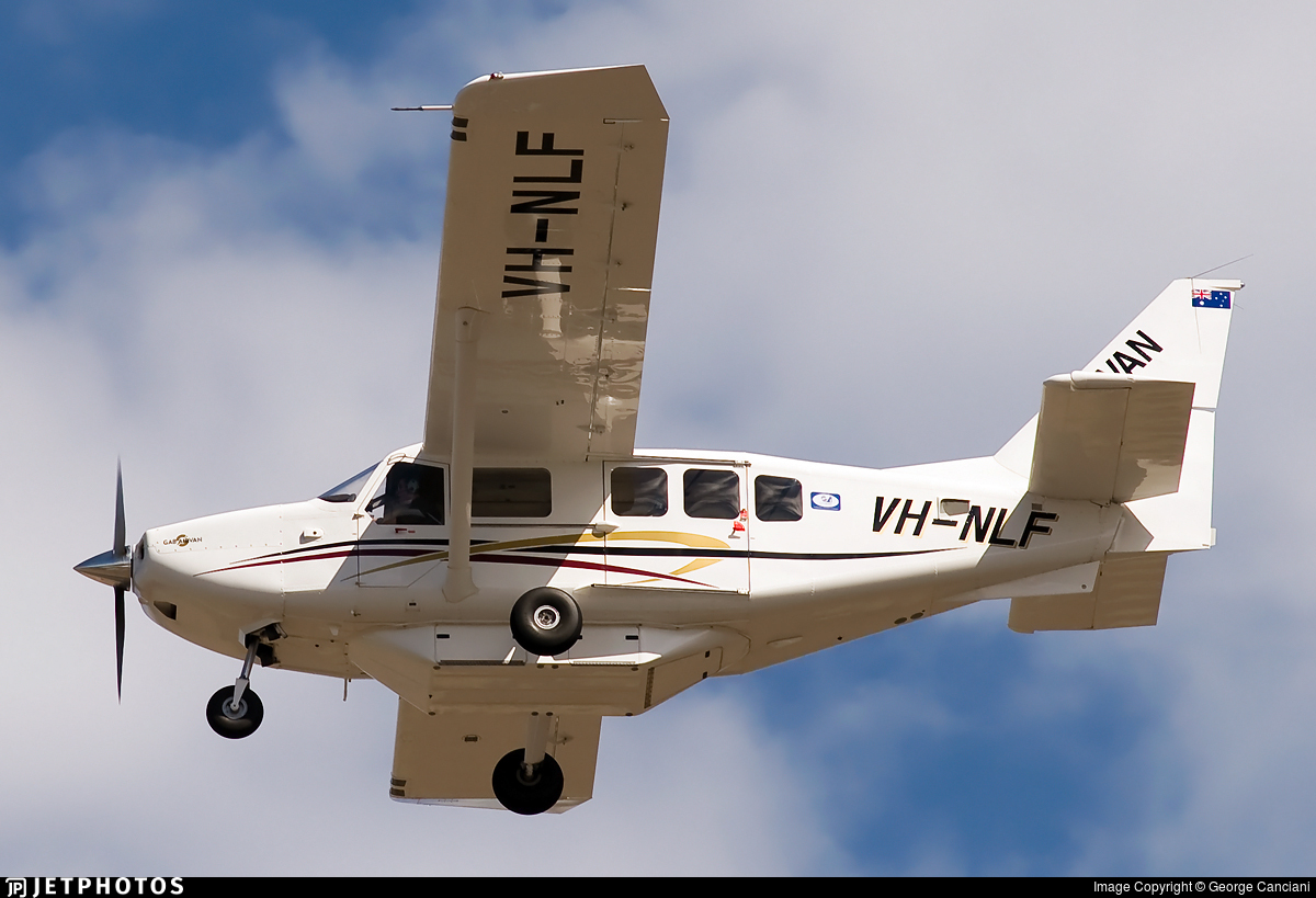 VH-NLF - Gippsland GA-8 Airvan - Private