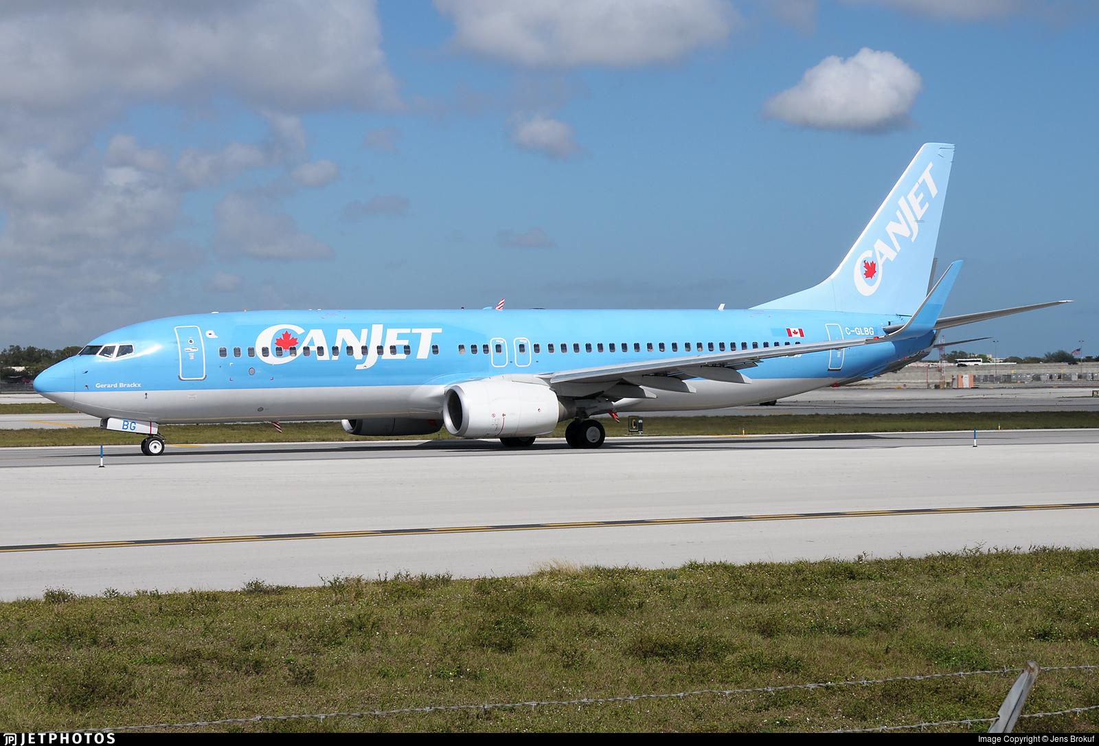 C-GLBG - Boeing 737-8K5 - CanJet Airlines