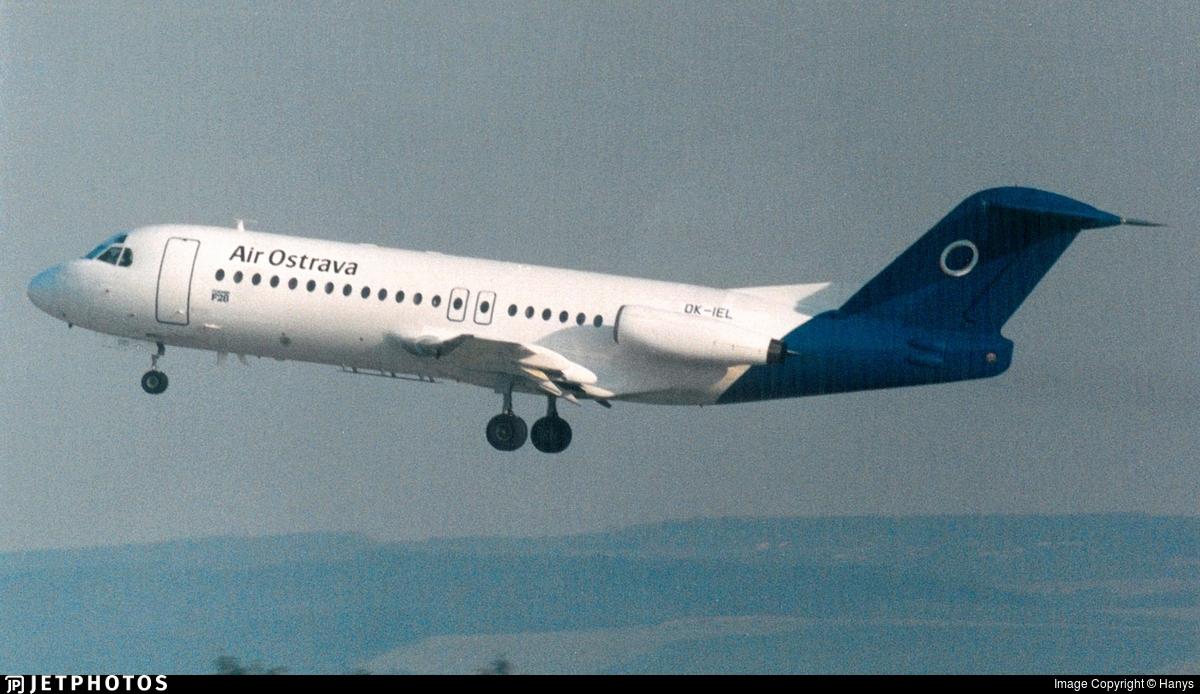 OK-IEL - Fokker F28-4000 Fellowship - Air Ostrava