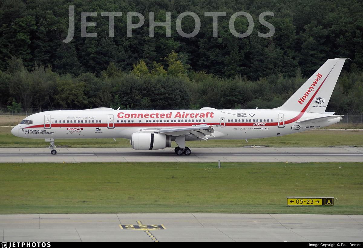 N757HW   Boeing 757-225   Honeywell Aerospace   Paul Denton