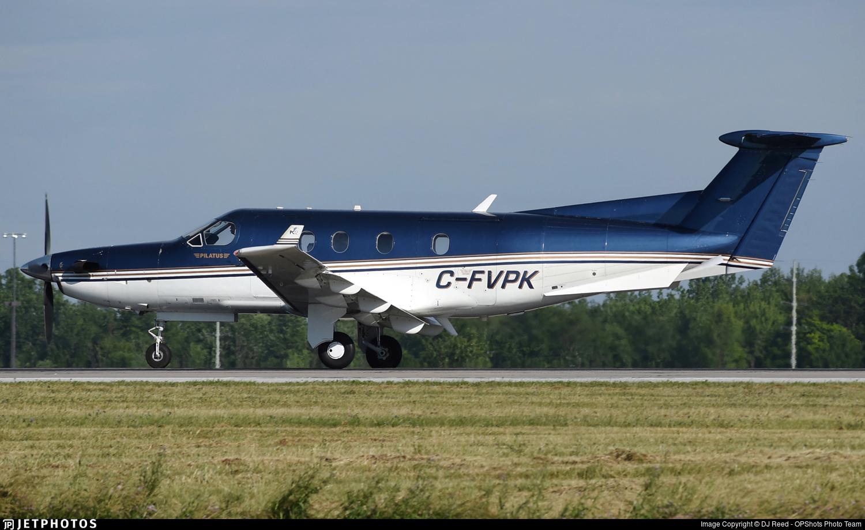 C-FVPK - Pilatus PC-12/45 - Airsprint