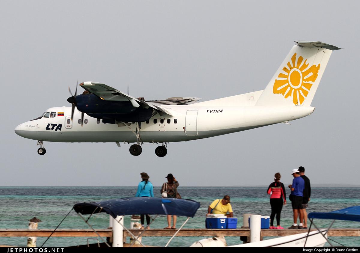 YV1184 - De Havilland Canada DHC-7-102 Dash 7 - Linea Turistica Aereotuy