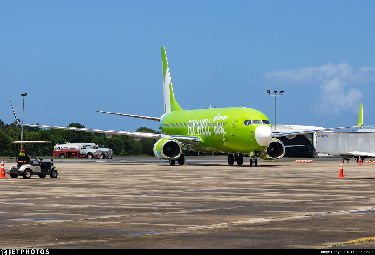 N374AV  - Boeing 737-8K2 - Kulula.com