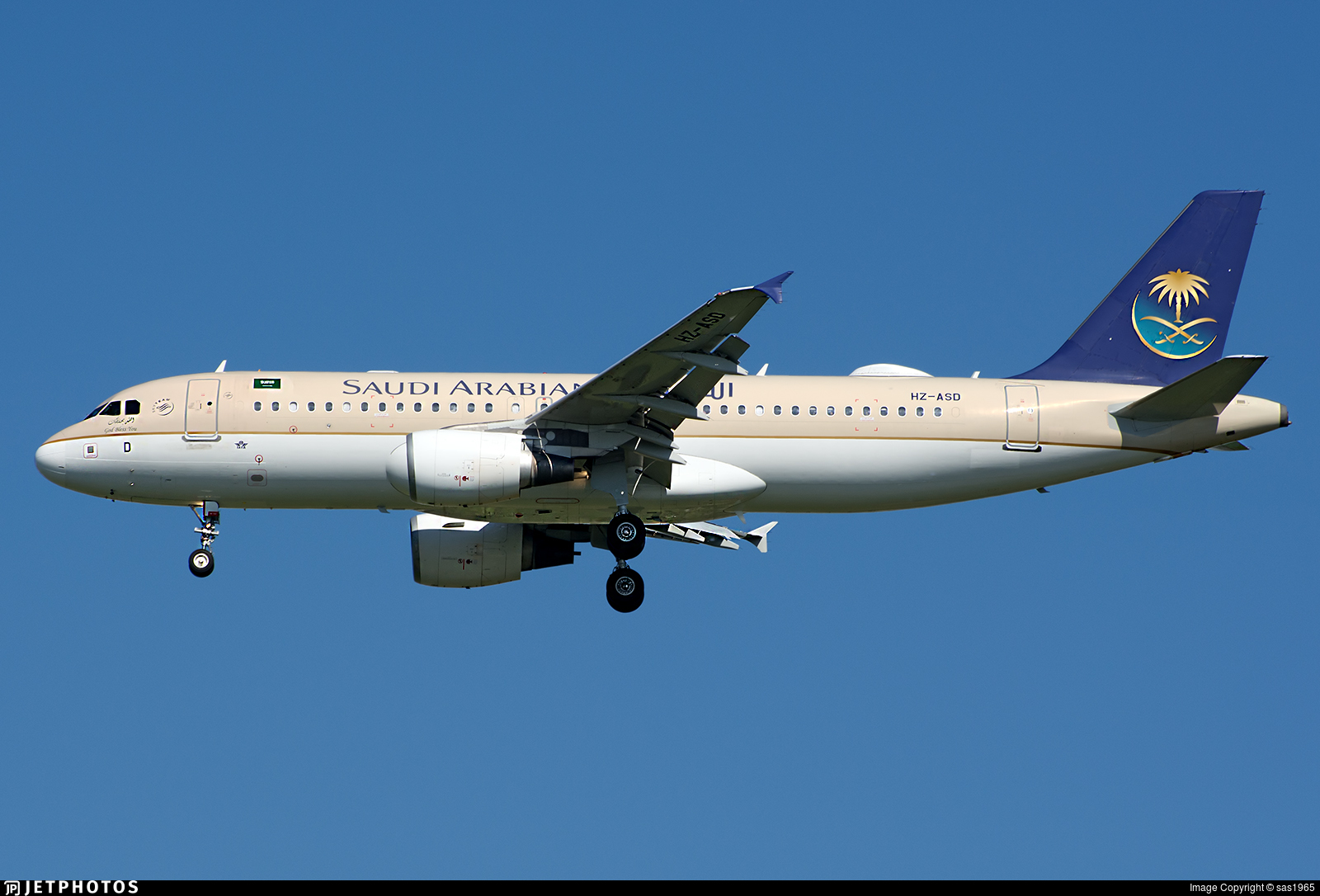 HZ-ASD - Airbus A320-214 - Saudi Arabian Airlines