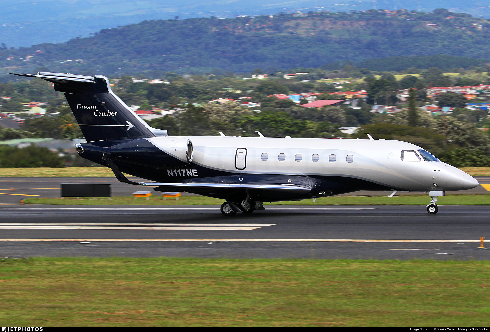 N117NE - Embraer EMB-550 Legacy 500 - Private