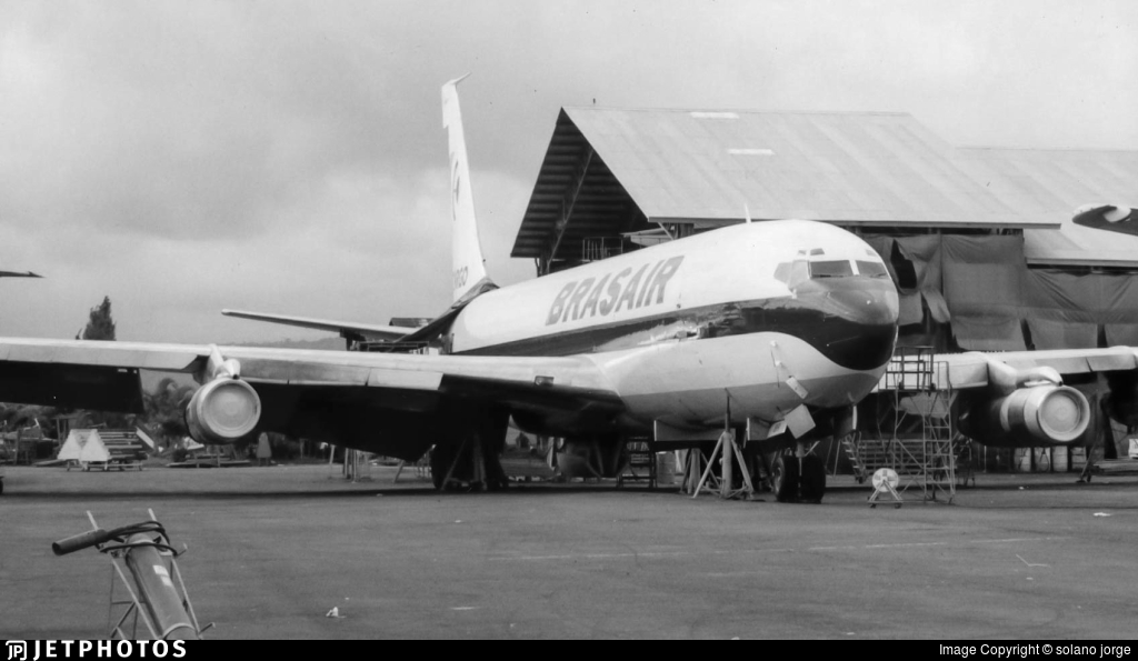 PP-BRB - Boeing 707-336C - Brasair Transportes Aereos