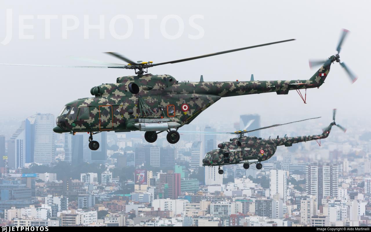 EP-679 - Mil Mi-171Sh-P - Perú - Army