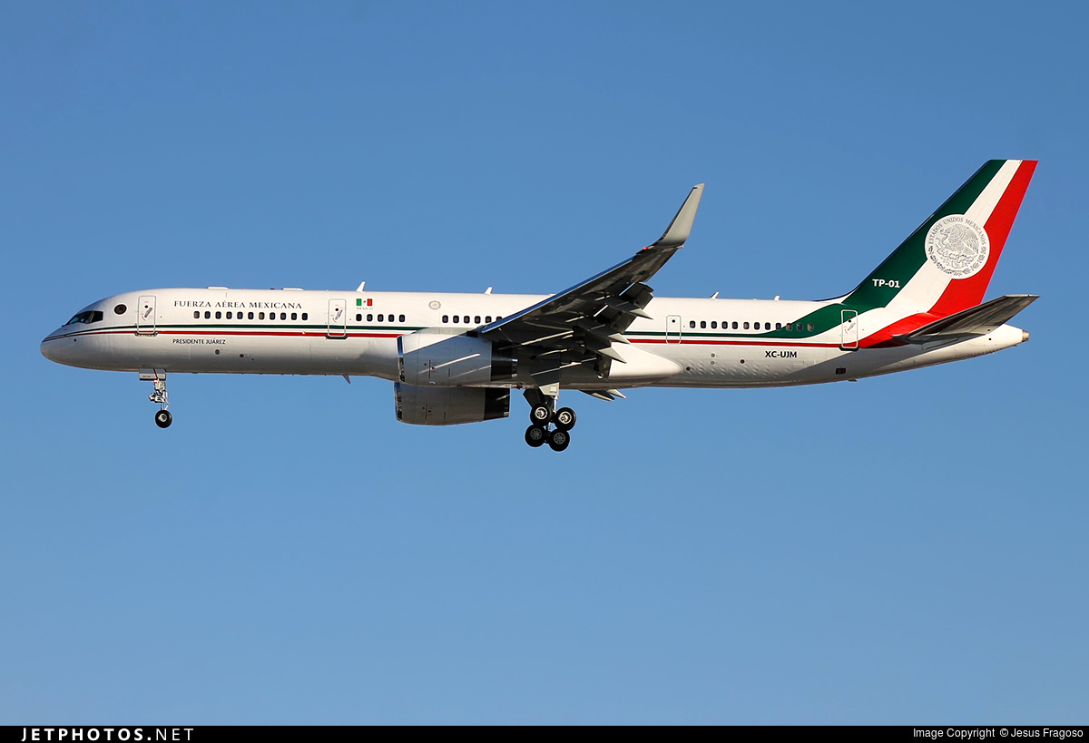 TP-01 - Boeing 757-225 - Mexico - Air Force