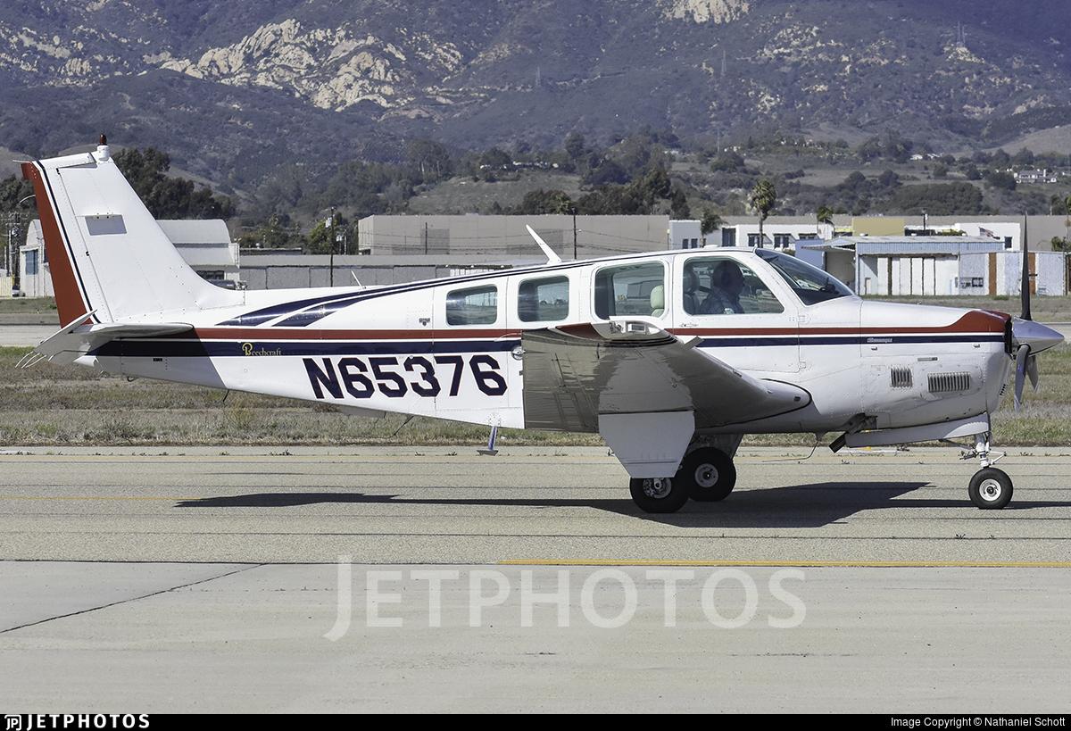 N65376 - Beechcraft B36TC Bonanza - Private
