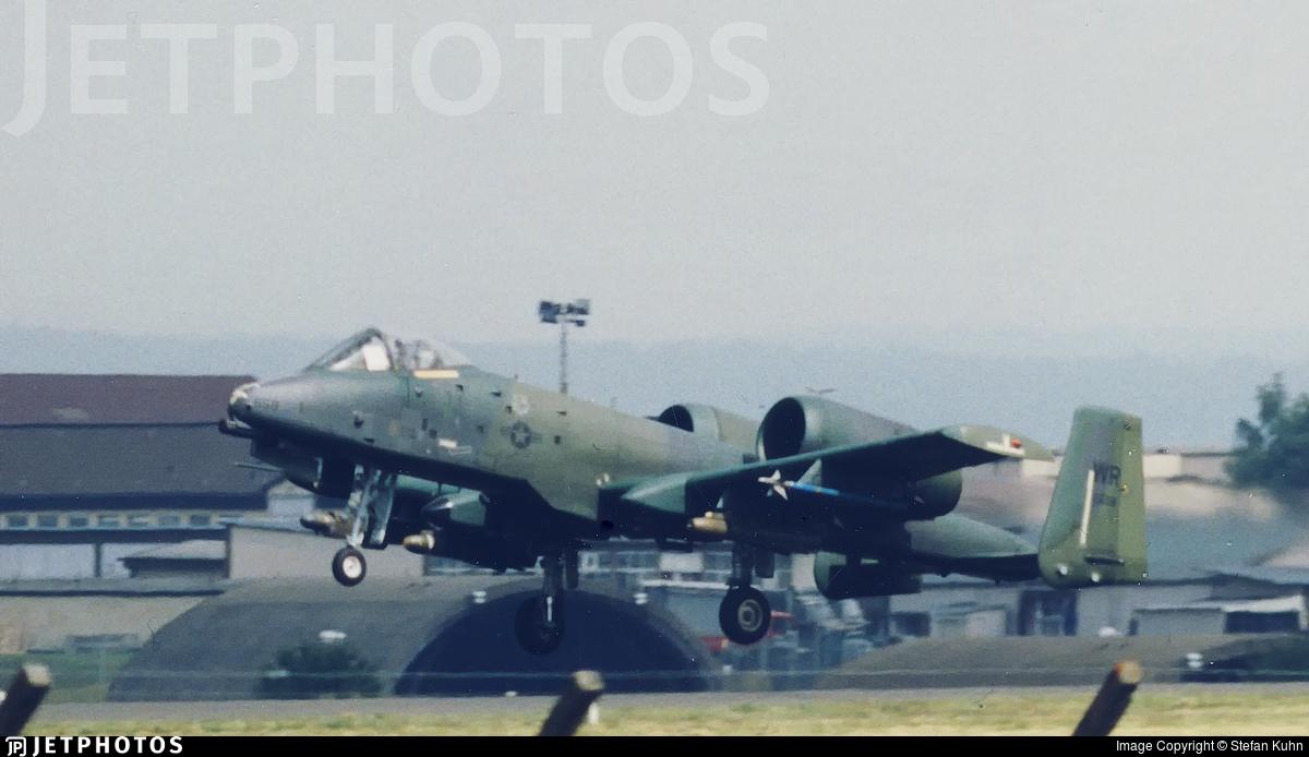 82-0658 - Fairchild OA-10A Thunderbolt II - United States - US Air Force (USAF)