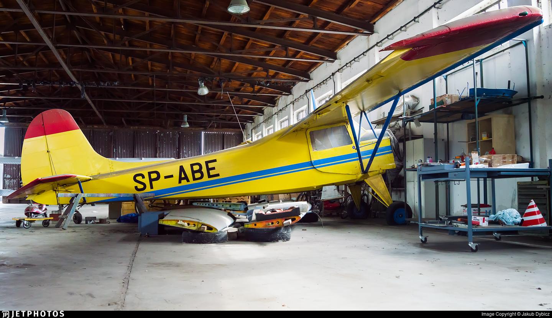 SP-ABE - Yakovlev Yak-12M - Aero Club - Poznan