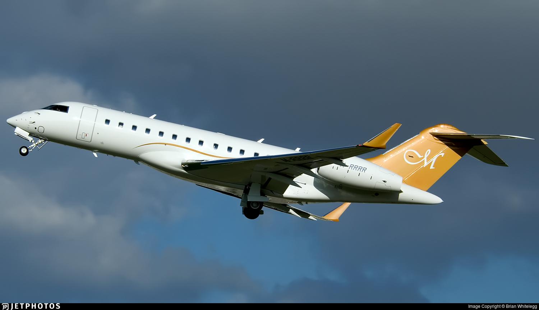M-RRRR - Bombardier BD-700-1A10 Global 6000 - Private