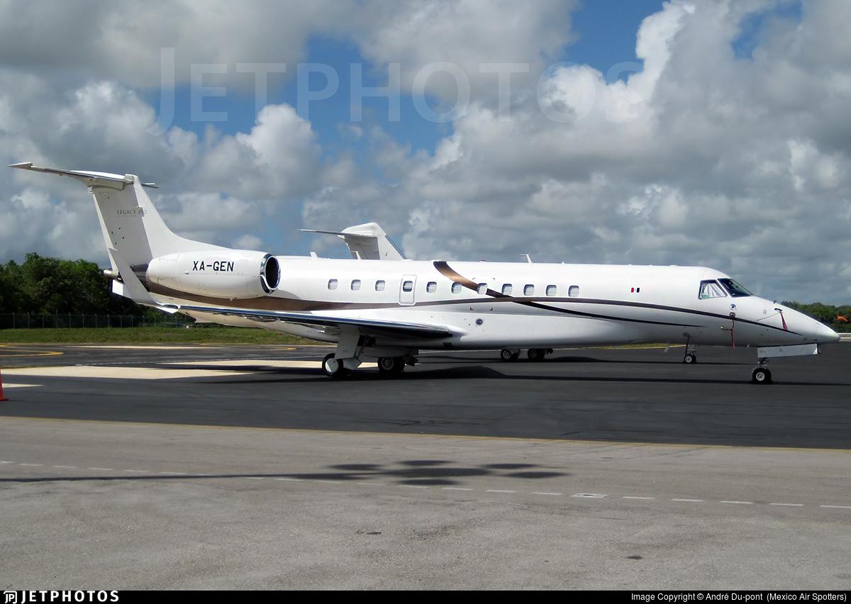 XA-GEN - Embraer ERJ-135BJ Legacy 650 - Private