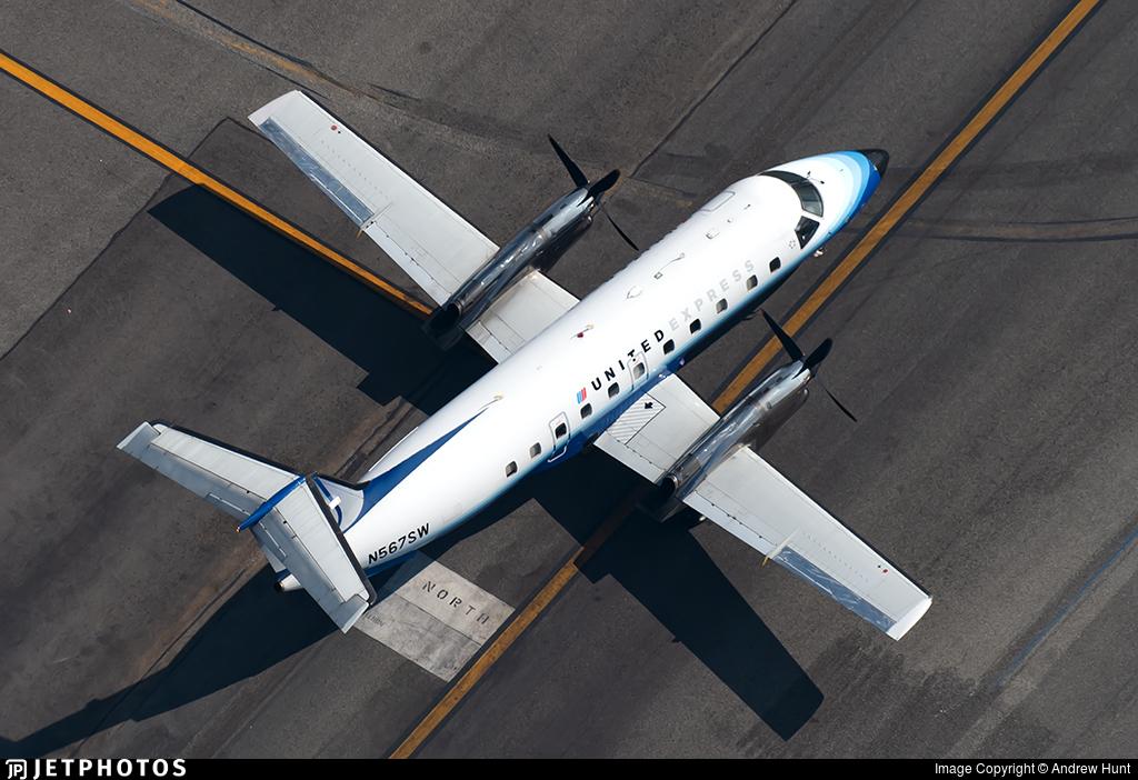 N567SW - Embraer EMB-120ER Brasília - United Express (SkyWest Airlines)