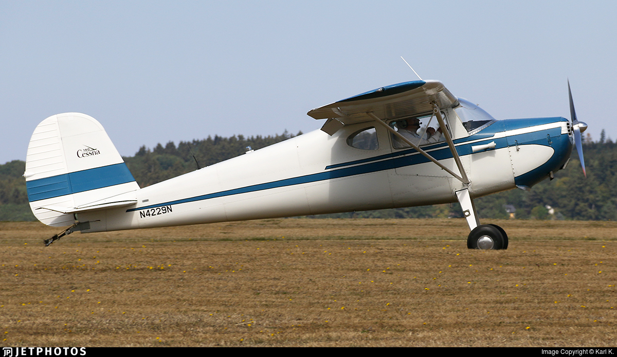 N4229N - Cessna 140 - Private