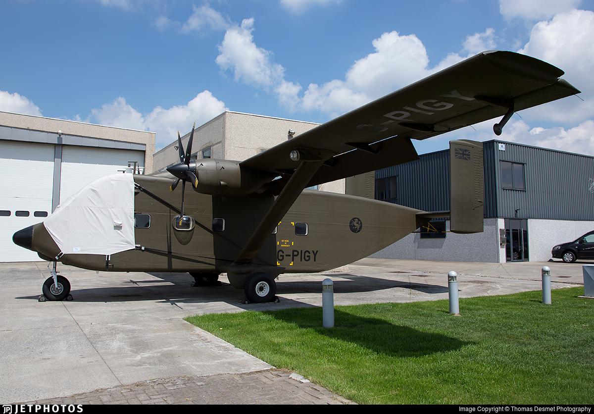 G-PIGY - Short SC-7 Skyvan 3-100 - Invicta Aviation