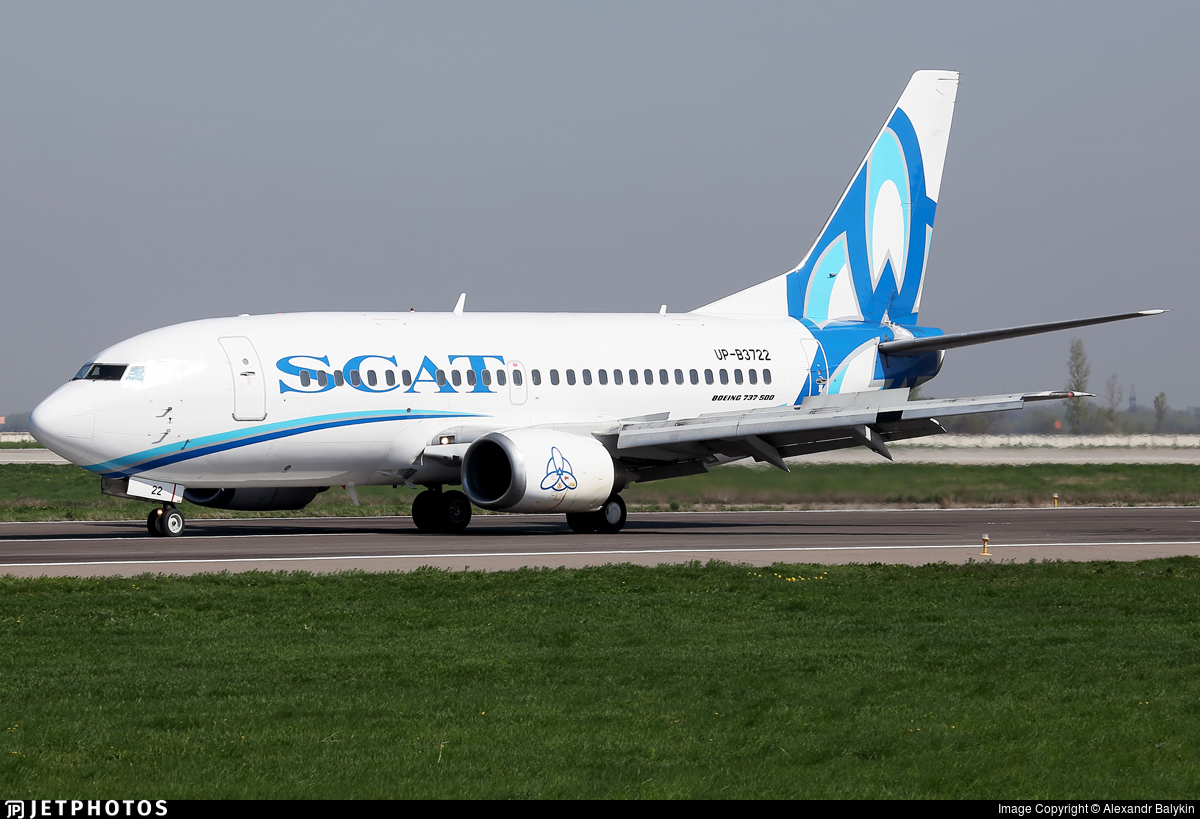 UP-B3722 - Boeing 737-522 - Scat Air Company