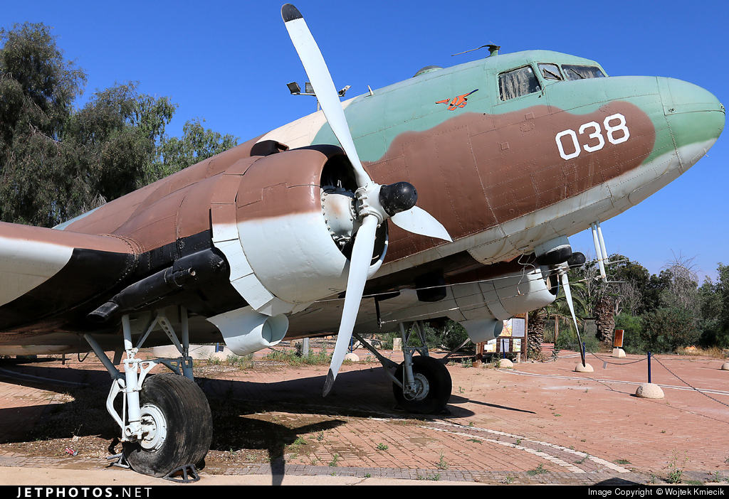 4X-FNZ - Douglas C-47B Skytrain - Israel - Air Force