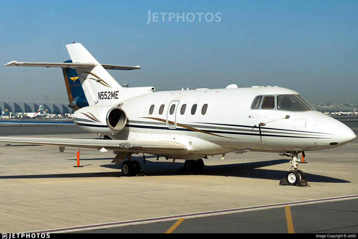 N552ME - Hawker Beechcraft 800XP - Private
