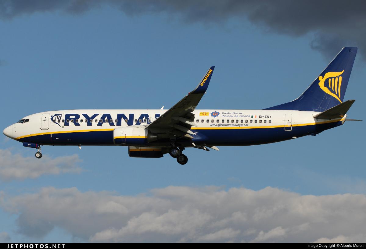 EI-ENY - Boeing 737-8AS - Ryanair