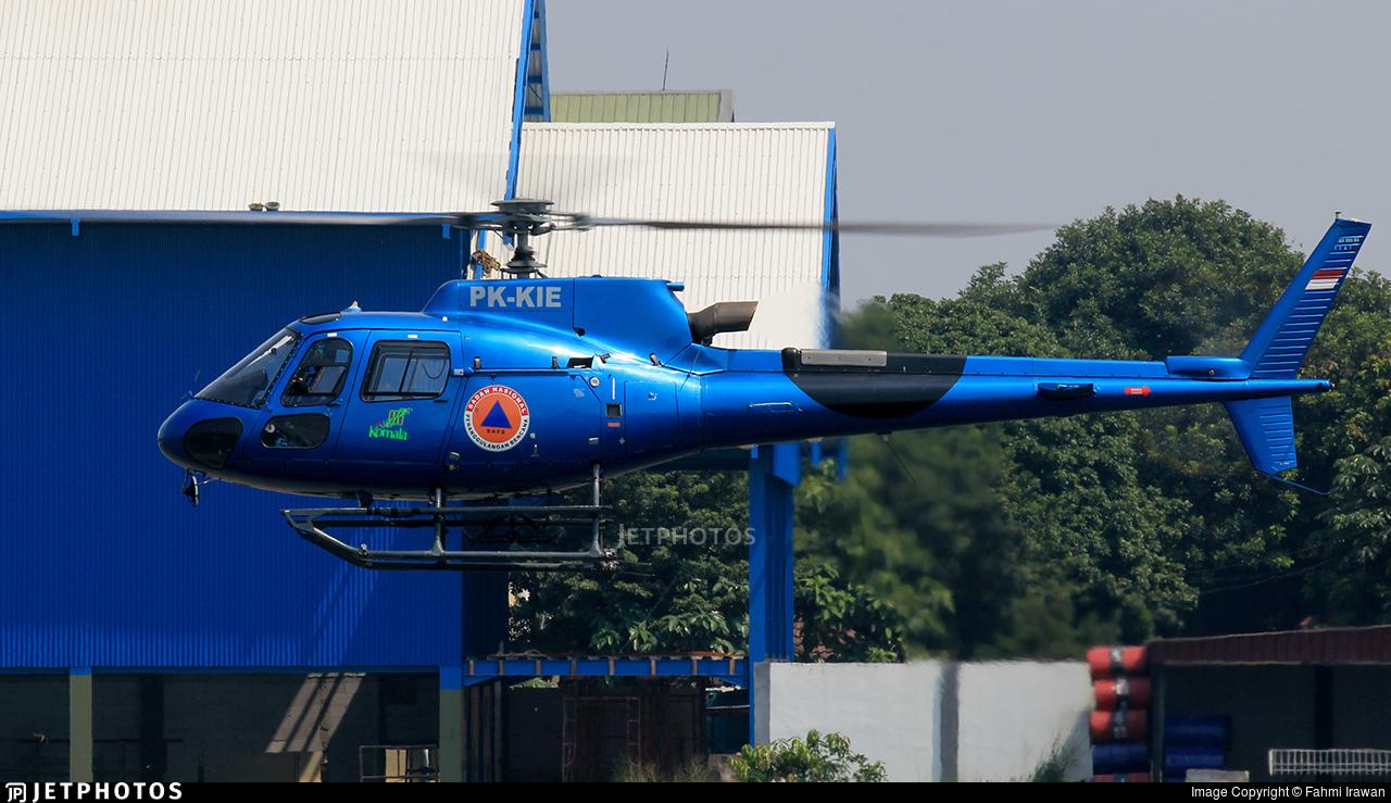 PK-KIE - Eurocopter AS 350B3 Ecureuil - Komala Air