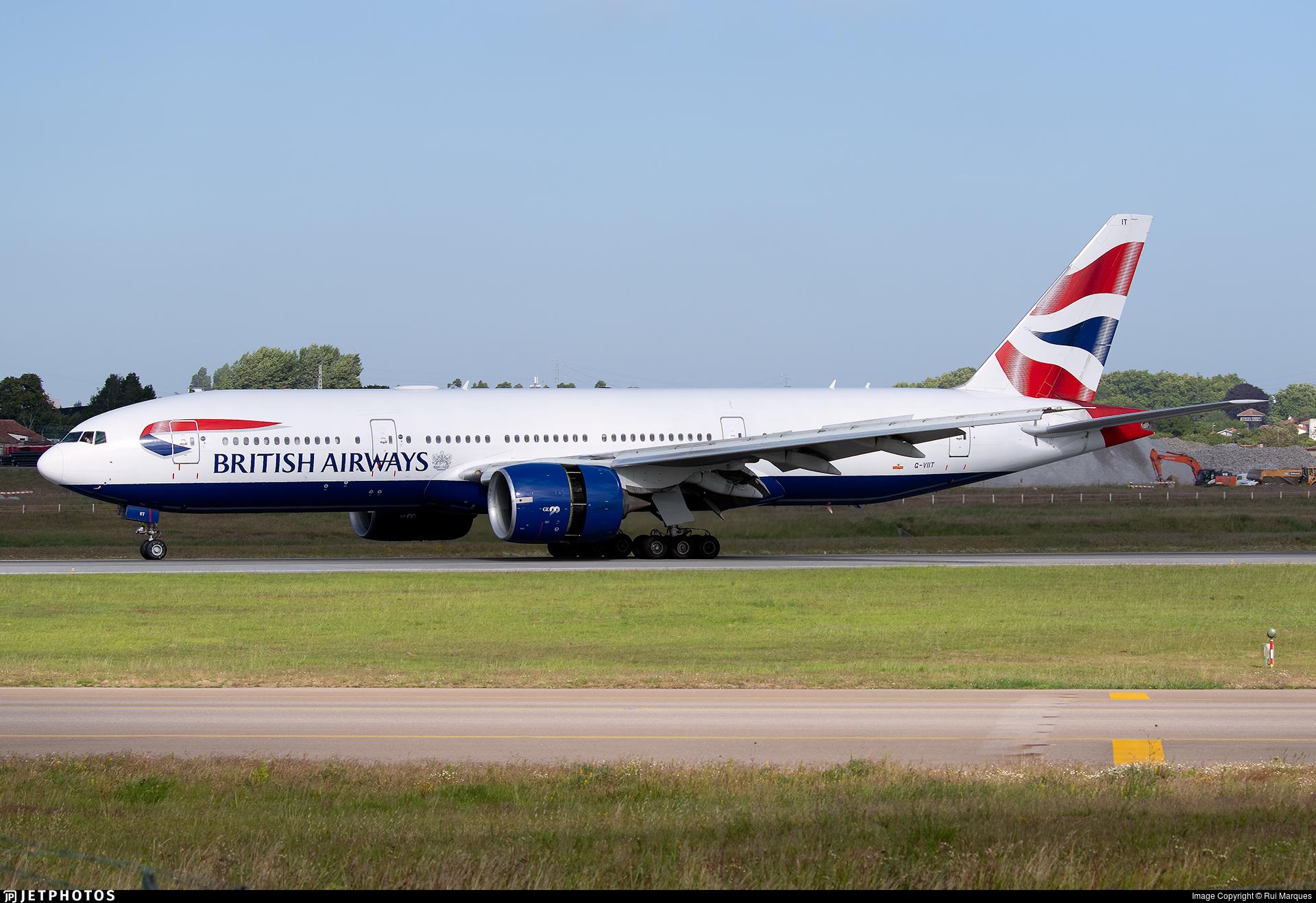 G-VIIT - Boeing 777-236(ER) - British Airways