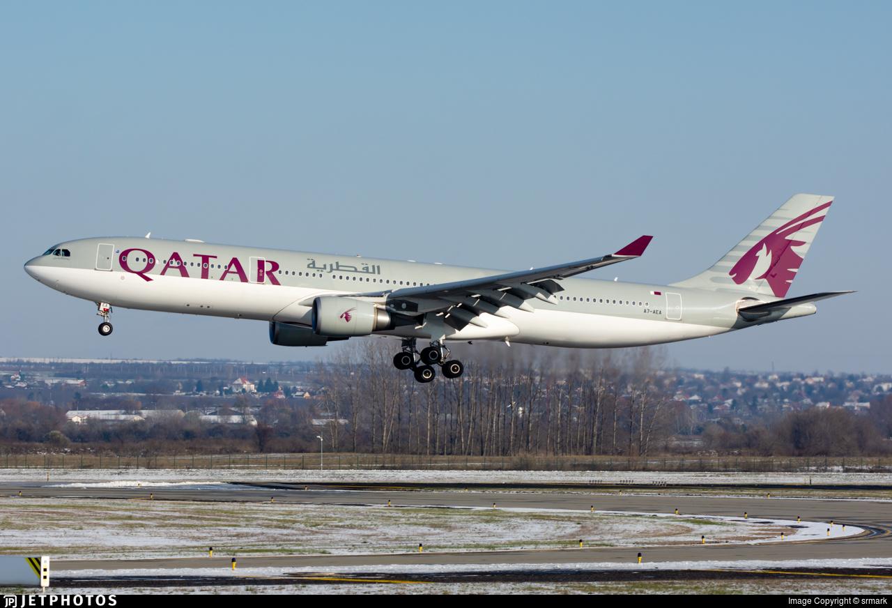 A7-AEA - Airbus A330-302 - Qatar Airways