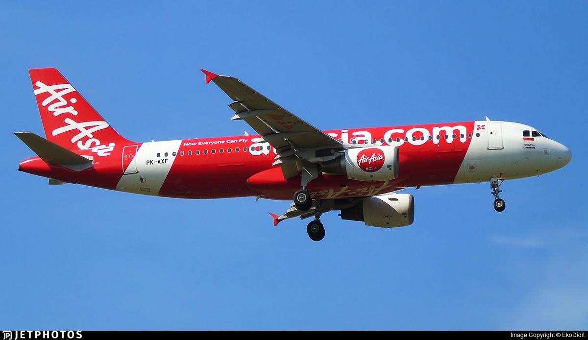 PK-AXF - Airbus A320-216 - Indonesia AirAsia