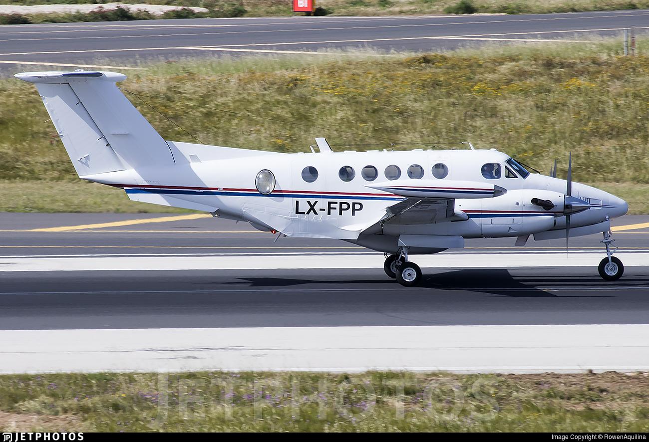 LX-FPP - Beechcraft 200T Super King Air - Diamond Executive Aviation