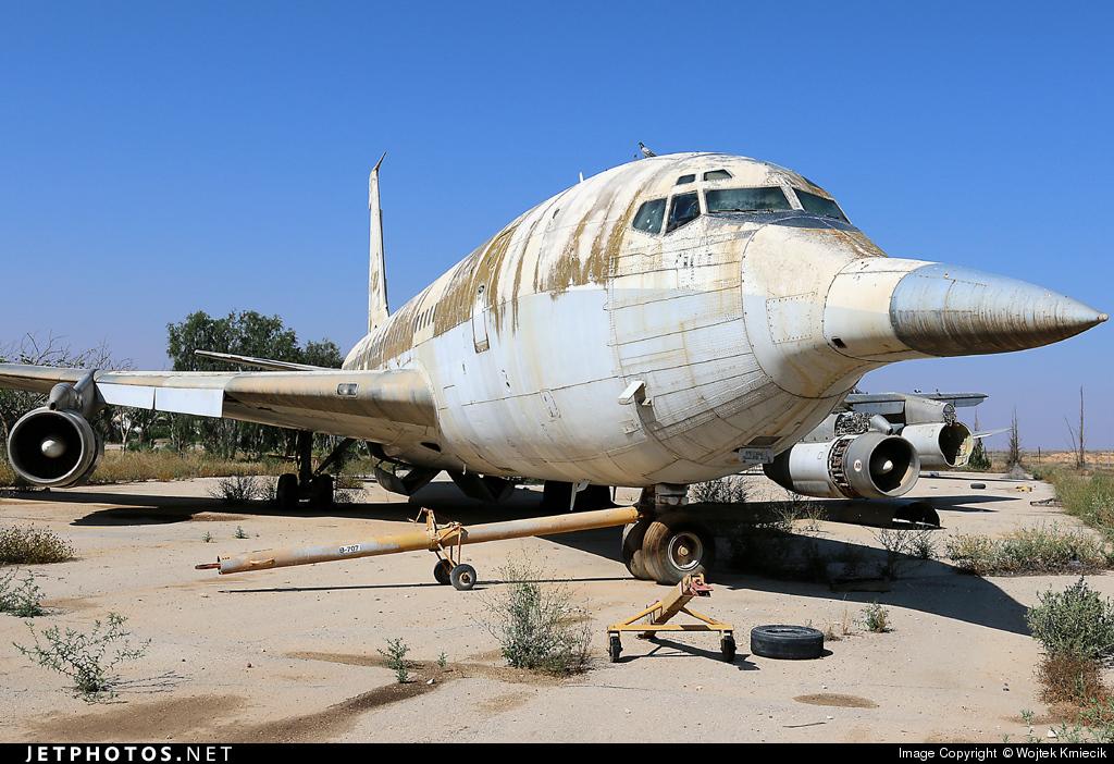 4X-JYG - Boeing 720-023B - Israel - Air Force