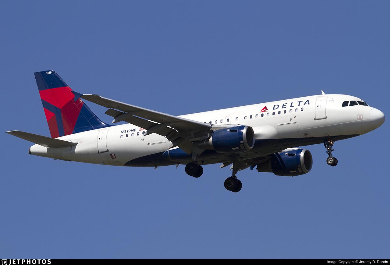 N319NB - Airbus A319-114 - Delta Air Lines