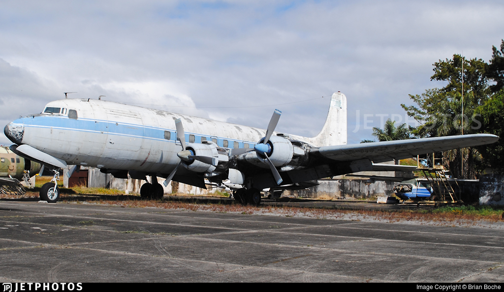 TG-WOP - Douglas DC-6B - Guatemala - Air Force