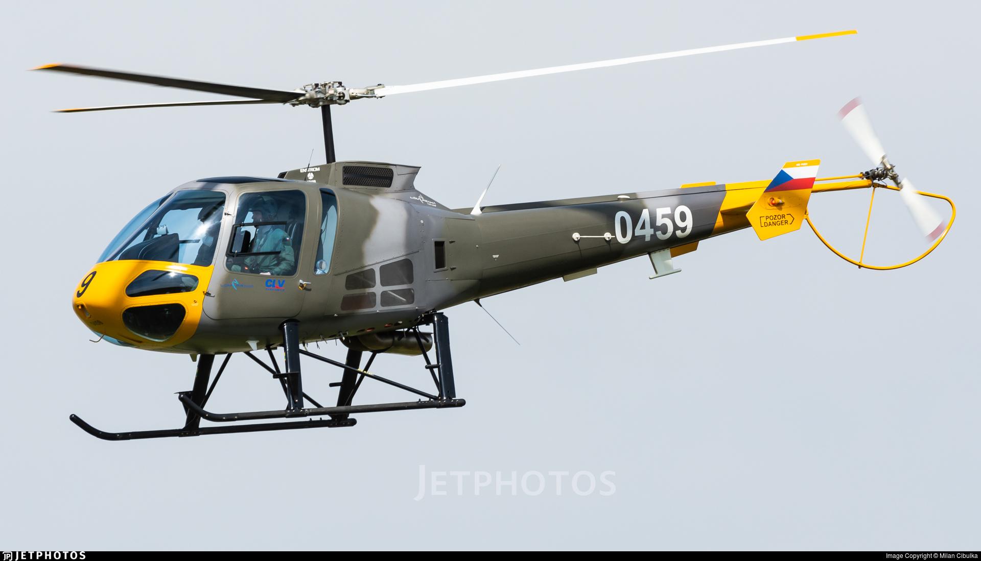 0459 - Enstrom 480B - Czech Republic - Air Force
