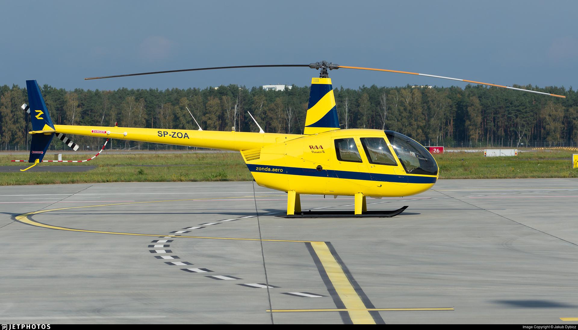 SP-ZOA - Robinson R44 Raven II - Private