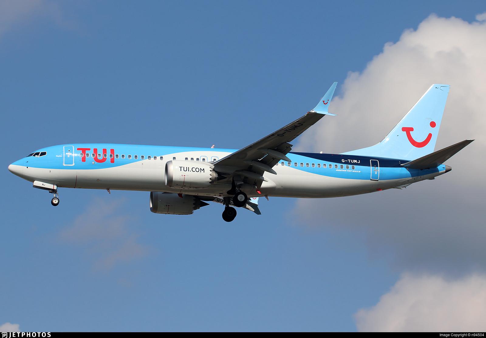 G-TUMJ - Boeing 737-8 MAX - TUI