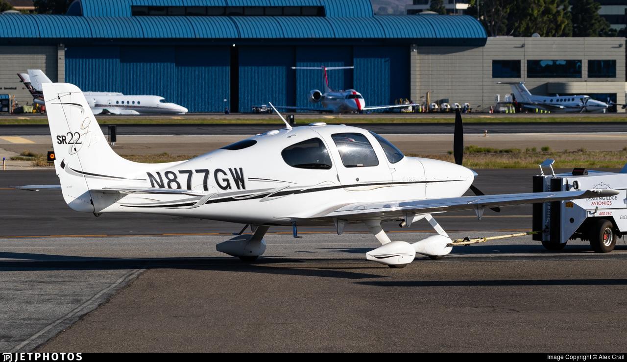 N877GW - Cirrus SR22-GTS - Private