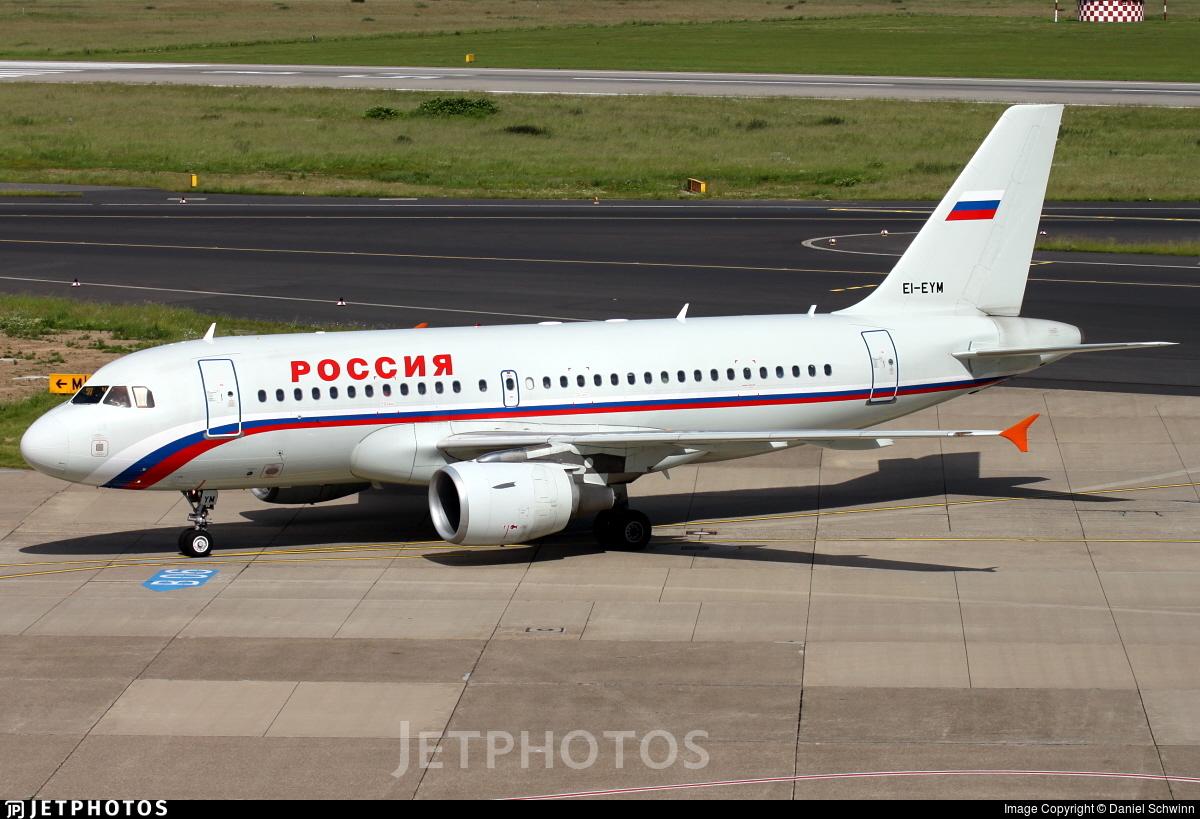 EI-EYM - Airbus A319-111 - Rossiya Airlines