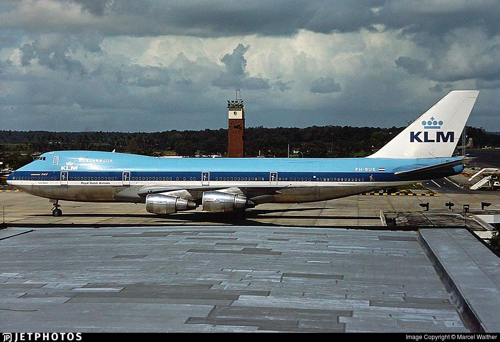 PH-BUK - Boeing 747-206B(M) - KLM Royal Dutch Airlines