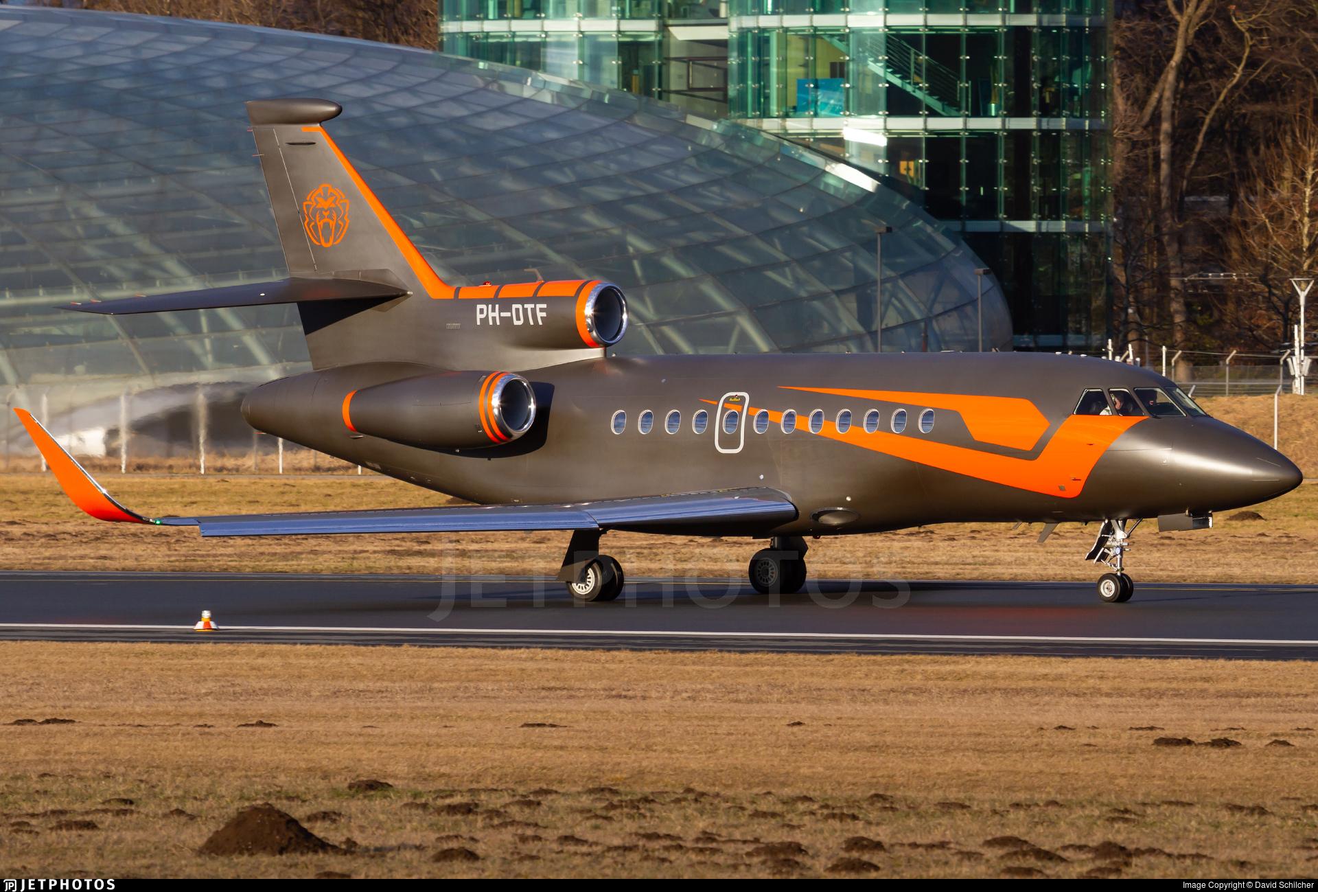 PH-DTF - Dassault Falcon 900EX - Mavic Aviation