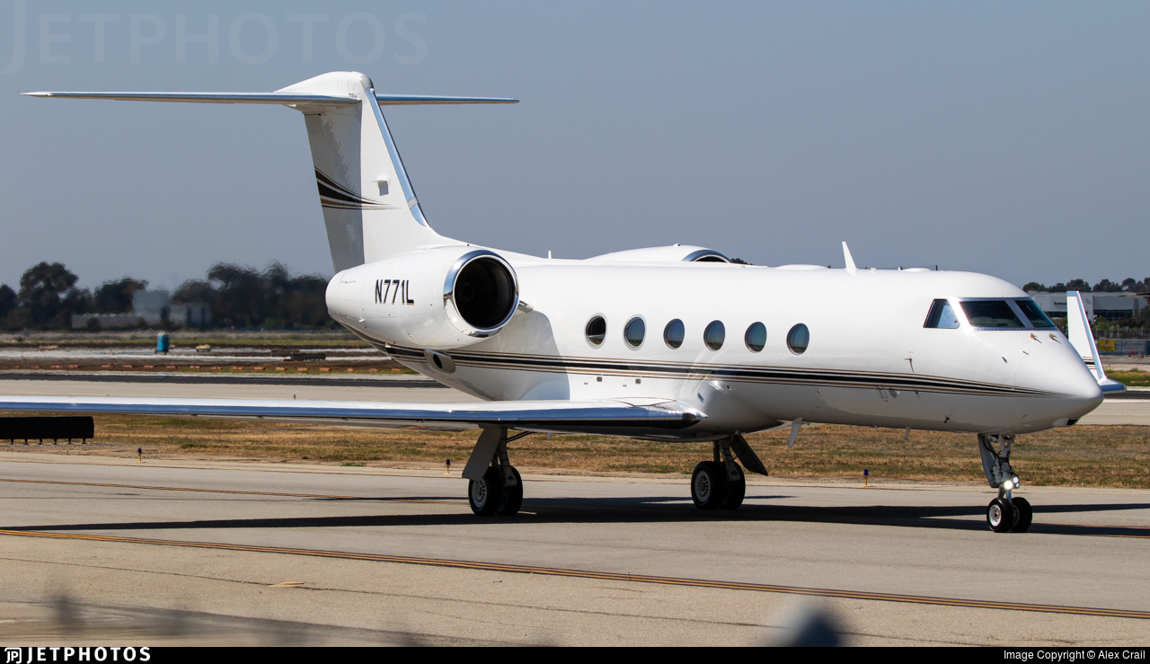 N771L - Gulfstream G450 - Private