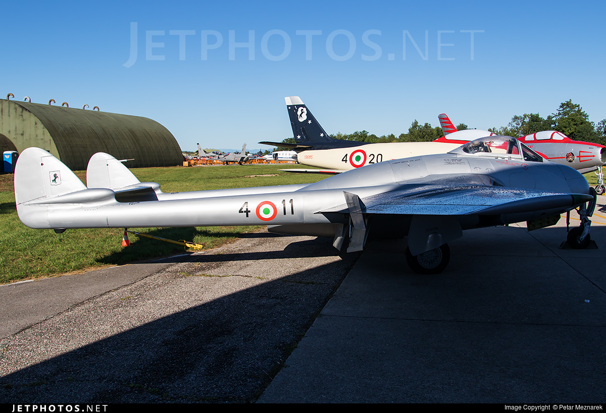 MM6033 - De Havilland Vampire FB.52 - Italy - Air Force