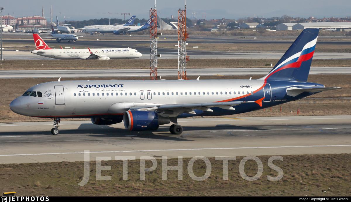 VP-BRY - Airbus A320-214 - Aeroflot