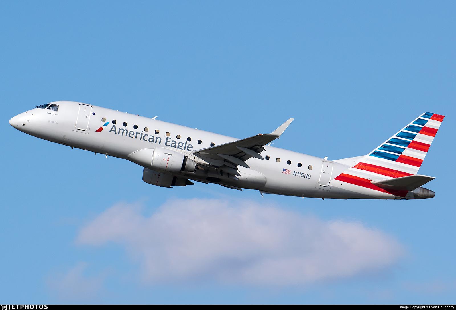 N115HQ - Embraer 170-200LR - American Eagle (Republic Airways)