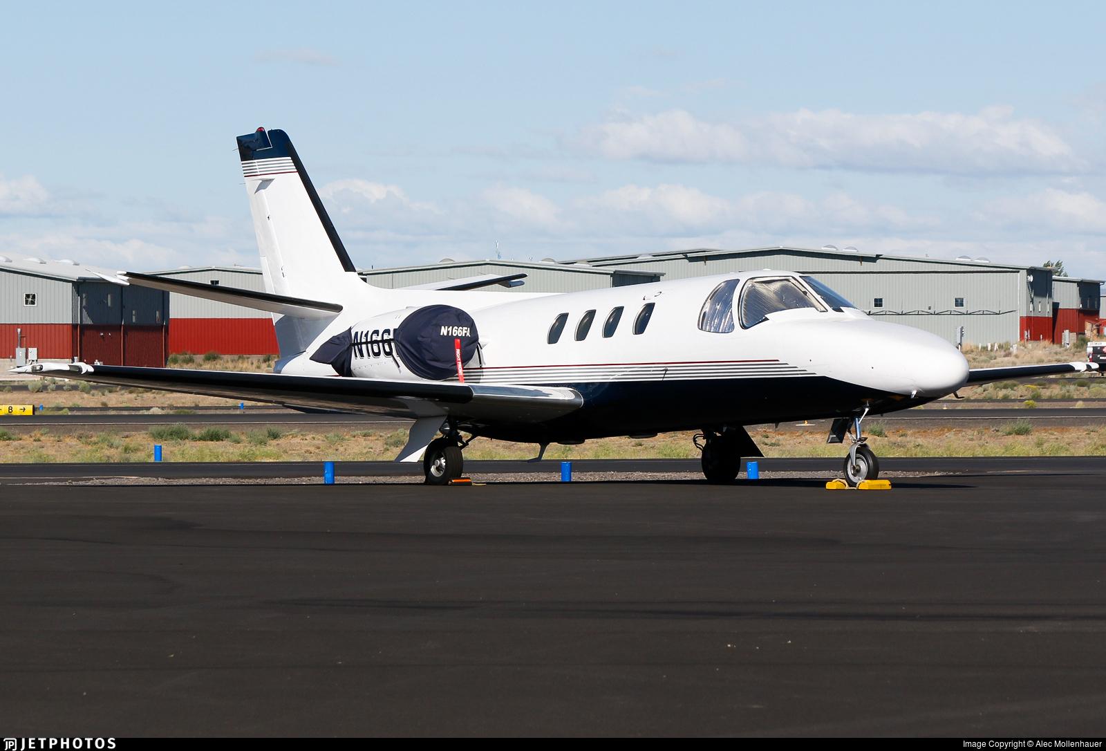 N166FA - Cessna 501 Citation SP - Private