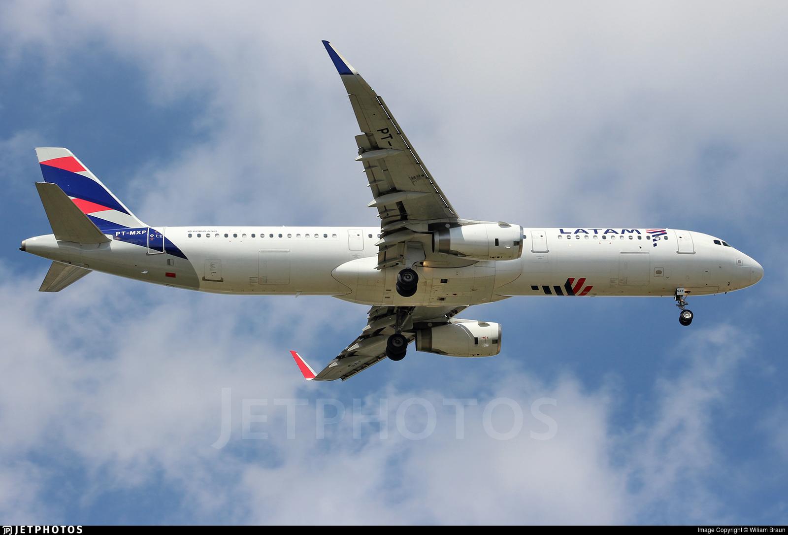 PT-MXP - Airbus A321-231 - LATAM Airlines