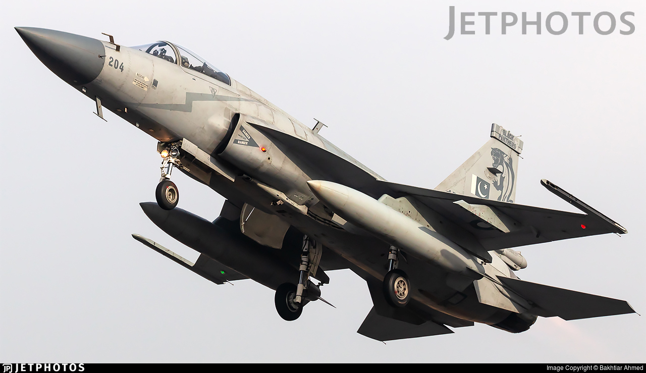 15-204 - Chengdu JF-17 Thunder - Pakistan - Air Force
