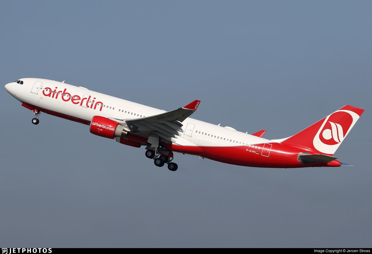 D-ALPH - Airbus A330-223 - Air Berlin