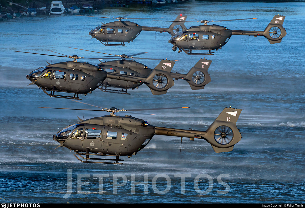 16 - Airbus Helicopters H145M - Hungary - Air Force