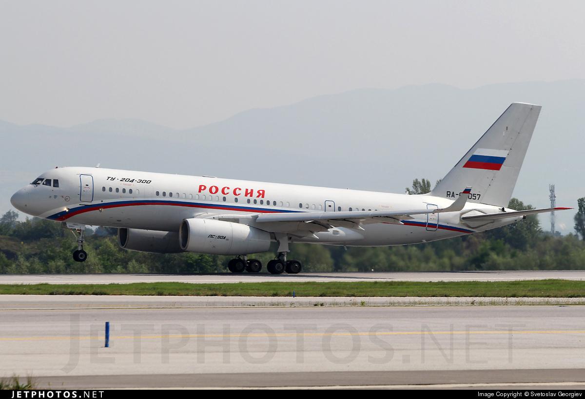 RA-64057 - Tupolev Tu-204-300 - Rossiya - Special Flight Squadron